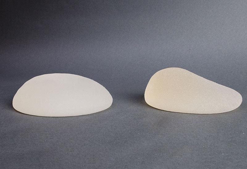 Les différents implants mammaires