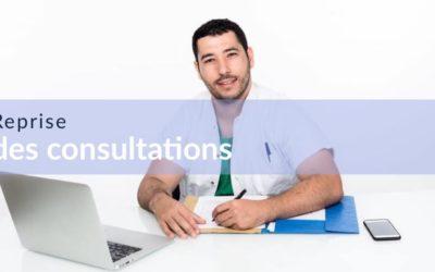 Reprise des consultations et soins
