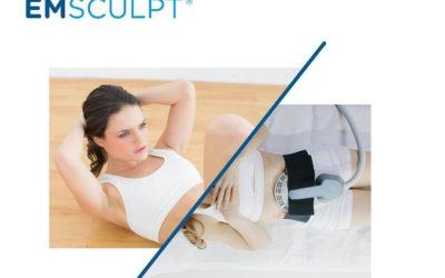 EMSculpt pour remodeler le ventre et les fesses
